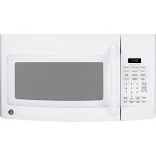 GE 1.7-cubic-foot Over-the-Range White Microwave Oven
