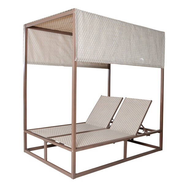 Panama Jack Island Breeze Canopy Outdoor Daybed and Removable Top