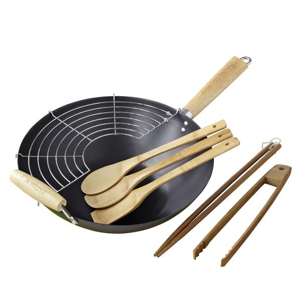 IMUSA 7-piece Wok Gift Set