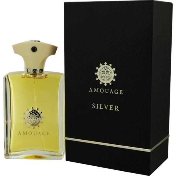 Silver Amouage Men's 3.4-ounce Eau de Parfum Spray