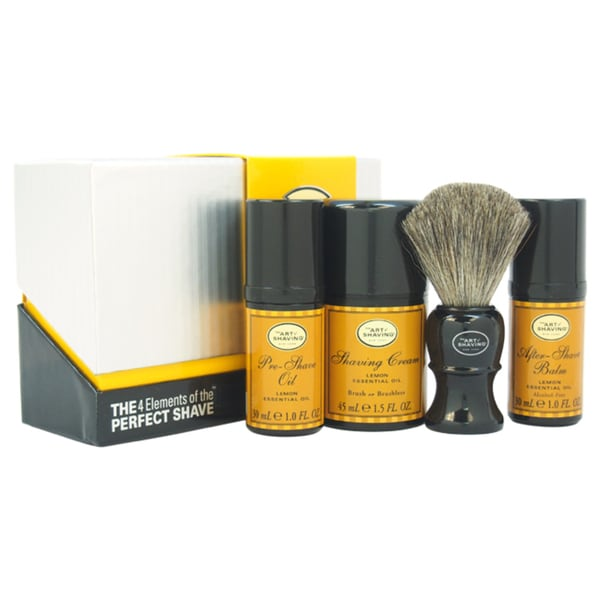 The 4 Elements of The Perfect Shave Mid-Size Kit