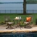 Panama Jack Island Breeze 3-piece Slatted Dining Bistro Group