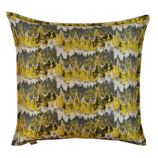 Sherry Kline 20-inch Dominion Yellow Decorative Feather and Down Filled Throw Pillow