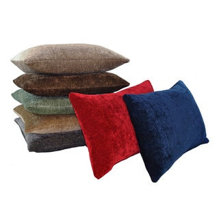 Austin Horn Classics Elite Velvet Chenille 20-inch Down Feather and Down Luxury Pillows (Set of 2)