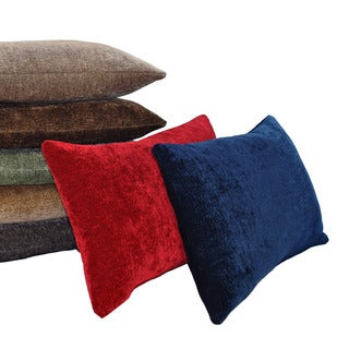 Austin Horn Classics Elite Velvet Chenille Boudoir Feather and Down Filled Luxury Pillows (Set of 2)