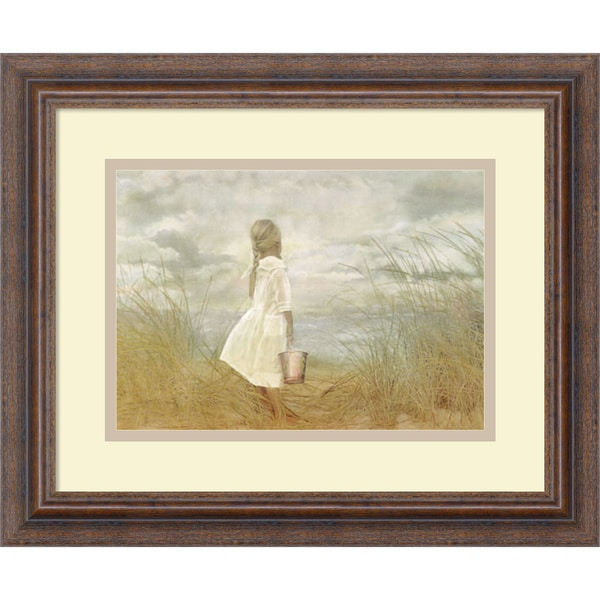 Betsy Cameron 'There's Always Tomorrow' Framed Art Print 16 x 13-inch