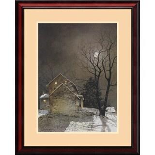 Ray Hendershot 'Working Late' Framed Art Print 25 x 31-inch