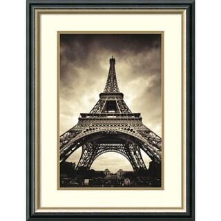 Marcin Stawiarz 'Eiffel Tower' Framed Art Print 20 x 26-inch