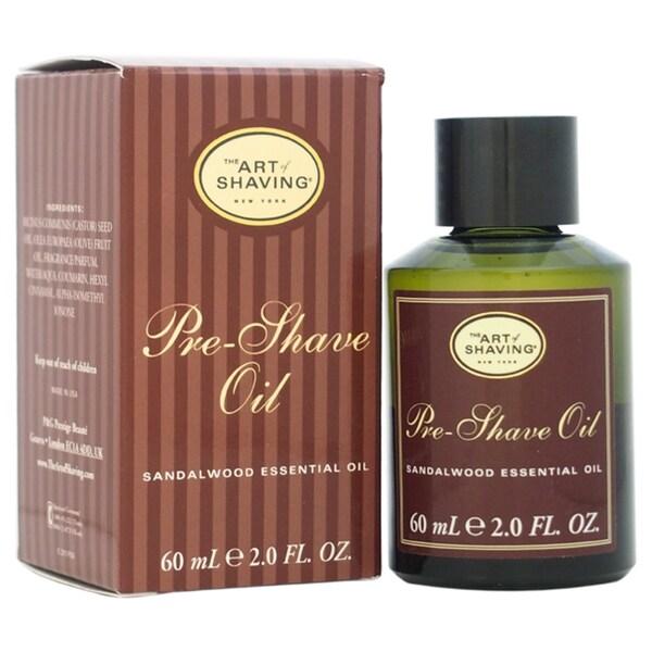 The Art of Shaving for Men 2-ounce Sandalwood Pre-Shave Oil