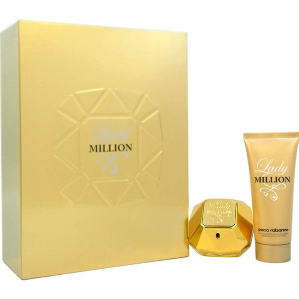 Paco Rabanne for Women Lady Million 2-piece Eau de Parfum and Body Lotion Gift Set