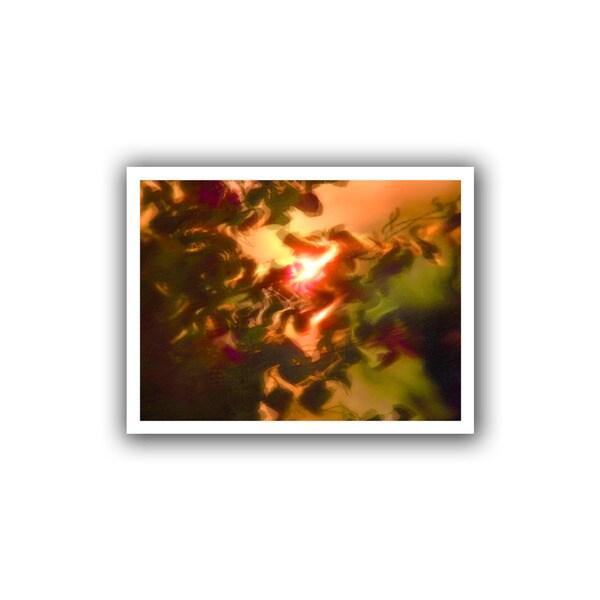 Dean Uhlinger 'Slow, Hot Wind' Unwrapped Canvas