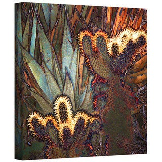 Dean Uhlinger 'Borrego Cactus Patch' Gallery-wrapped Canvas