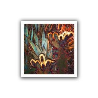 Dean Uhlinger 'Borrego Cactus Patch' Unwrapped Canvas