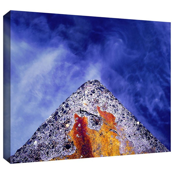 Dean Uhlinger 'Edge of Reason' Gallery-wrapped Canvas