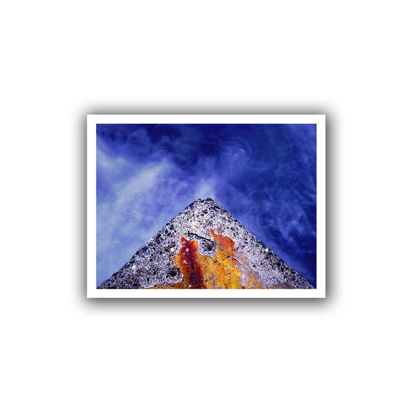 Dean Uhlinger 'Edge of Reason' Unwrapped Canvas