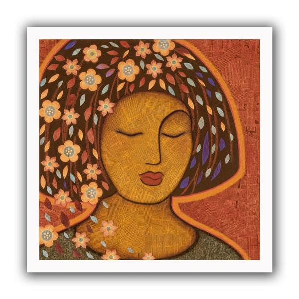 Gloria Rothrock 'Kali' Unwrapped Canvas