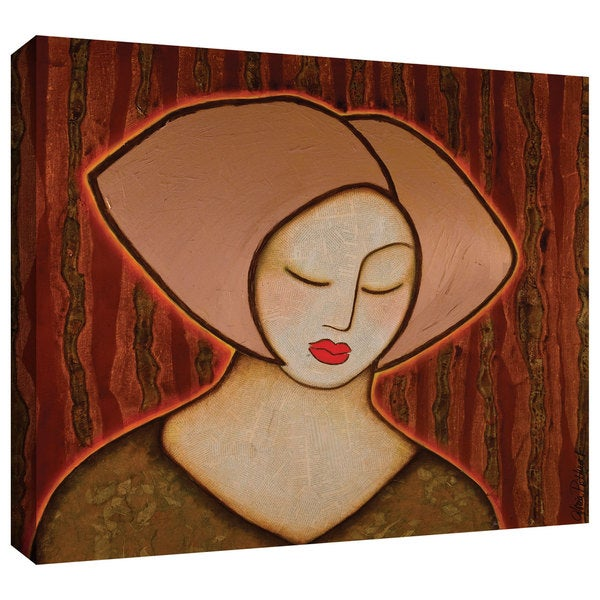 Gloria Rothrock 'Retreat into Silence' Gallery-wrapped Canvas