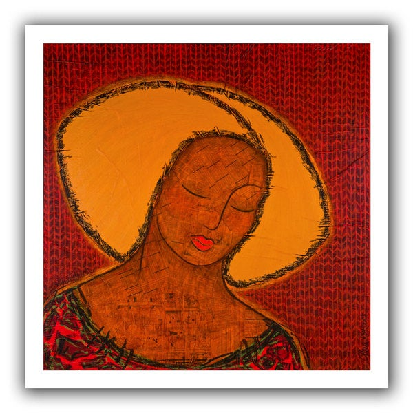 Gloria Rothrock 'The Beauty of Silence' Unwrapped Canvas