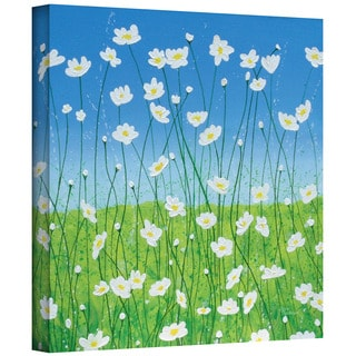 Herb Dickinson 'Jesse's Daisies' Gallery-wrapped Canvas