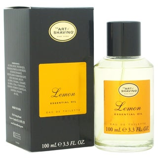 Lemon The Art of Shaving Men's 3.3-ounce Eau de Toilette Spray
