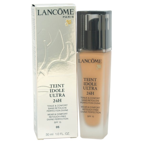 Lancome Teint Idole Ultra 24H Wear & Comfort Retouch Free Divine Perfection SPF 15 # 05 Beige Noiset