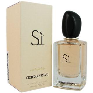 Giorgio Armani Si Women's 1.7-ounce Eau de Parfum Spray
