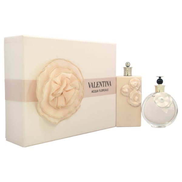 Valentina Acqua Floreale Eau de Toilette and Body Lotion 2-piece Gift Set