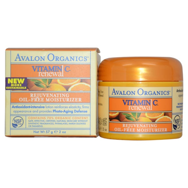 Avalon Organics Vitamin C Rejuvenating Oil-free 2-ounce Moisturizer