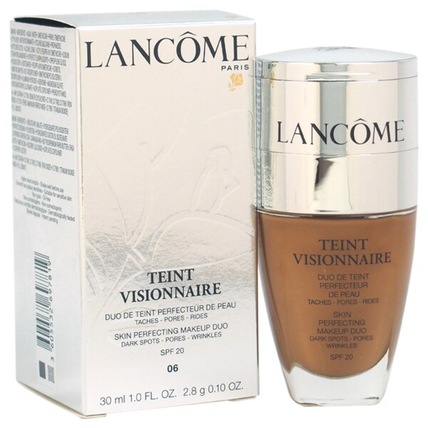 Lancome Teint Visionnaire Skin Perfecting Duo # 06 Beige Cannelle Foundation