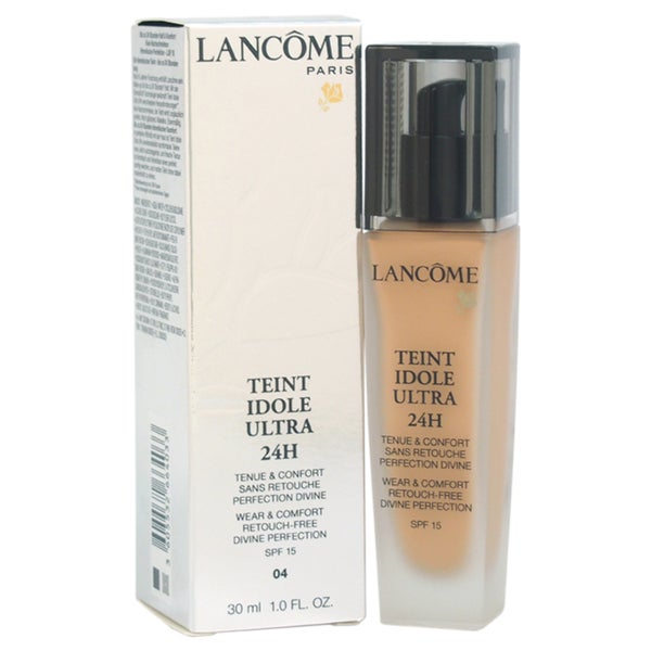 Lancome Teint Idole Ultra 24H Wear & Comfort Retouch Free Divine Perfection SPF 15 # 04 Beige Nature