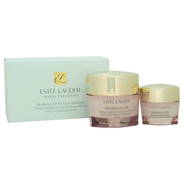Estee Lauder Resilience Lift For Face And Eye 2-piece Kit