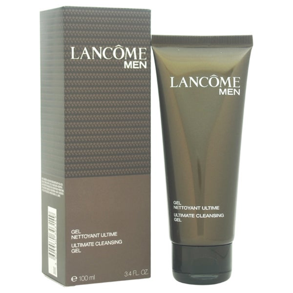 Lancome Men Ultimate Cleansing Gel 3.3-ounce Cleanser