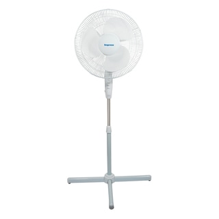Impress IM-716W 16-inch Oscillating 3-speed Stand Fan