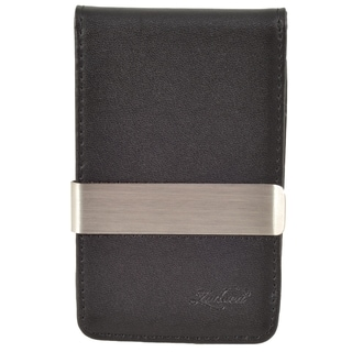 BasAcc Slim fit Genuine Leather Detachable Money Clip Wallet with 4 Card Slots