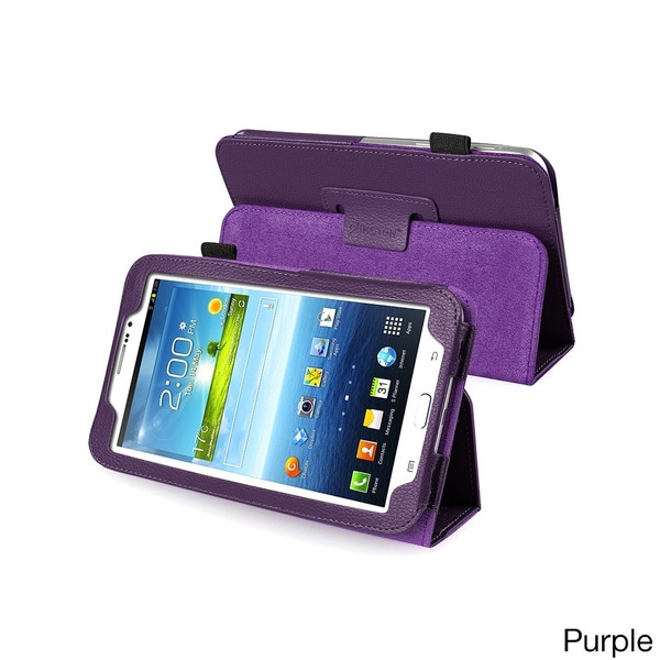 Insten Sleep Wake Function Flip Stand Leather Case for Samsung Galaxy Tab 3 7.0