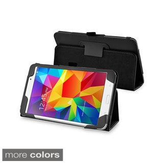 INSTEN Sleep Wake Function Flip Stand Leather Tablet Case Cover for Samsung Galaxy Tab 4 7.0