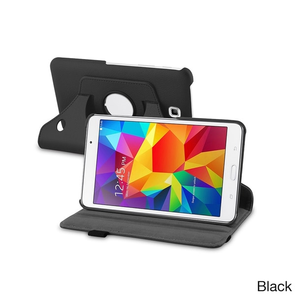 INSTEN 360 Swivel Rotating Stand Leather Tablet Case Cover for Samsung Galaxy Tab 4 7.0
