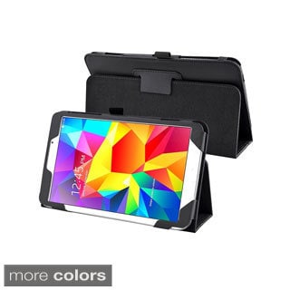 BasAcc Sleep Wake Function Flip Stand Leather Case for Samsung Galaxy Tab 4 8.0