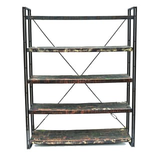 Addison Kiln-dried Recycled Wood Bookcase