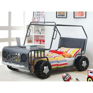 Furniture of America Jones Gun Metal SUV Youth Bed