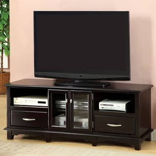 Furniture of America Reneville Sleek Espresso TV Console