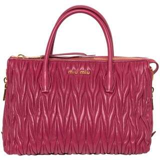 Miu Miu 'Matelasse' Satchel Handbag