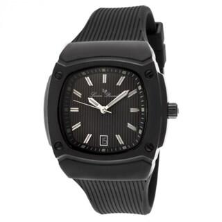 Lucien Piccard Men's LP-440-BB-01 Armada Black Textured Watch