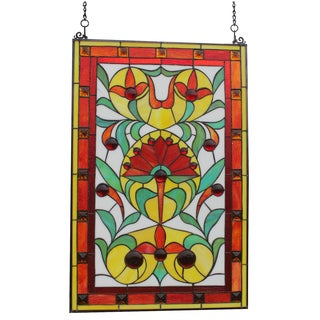 Tiffany Style Piccadilly Stained-glass Window Panel