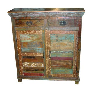 Rainforest Recycled Wood Chest