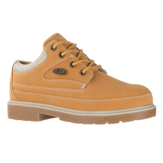 Lugz Men's 'Mission SR' Tan Slip-resistant Work Shoes