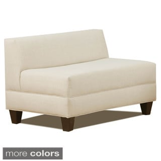 Makenzie Natural Armless Loveseat