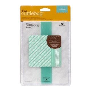 Cricut Cuttlebug Twill Stripe and Border Set (5x7)