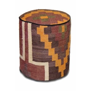 Fashionable Multi-colored Ottoman