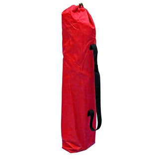 Red Polyester Foldable Camping Chair